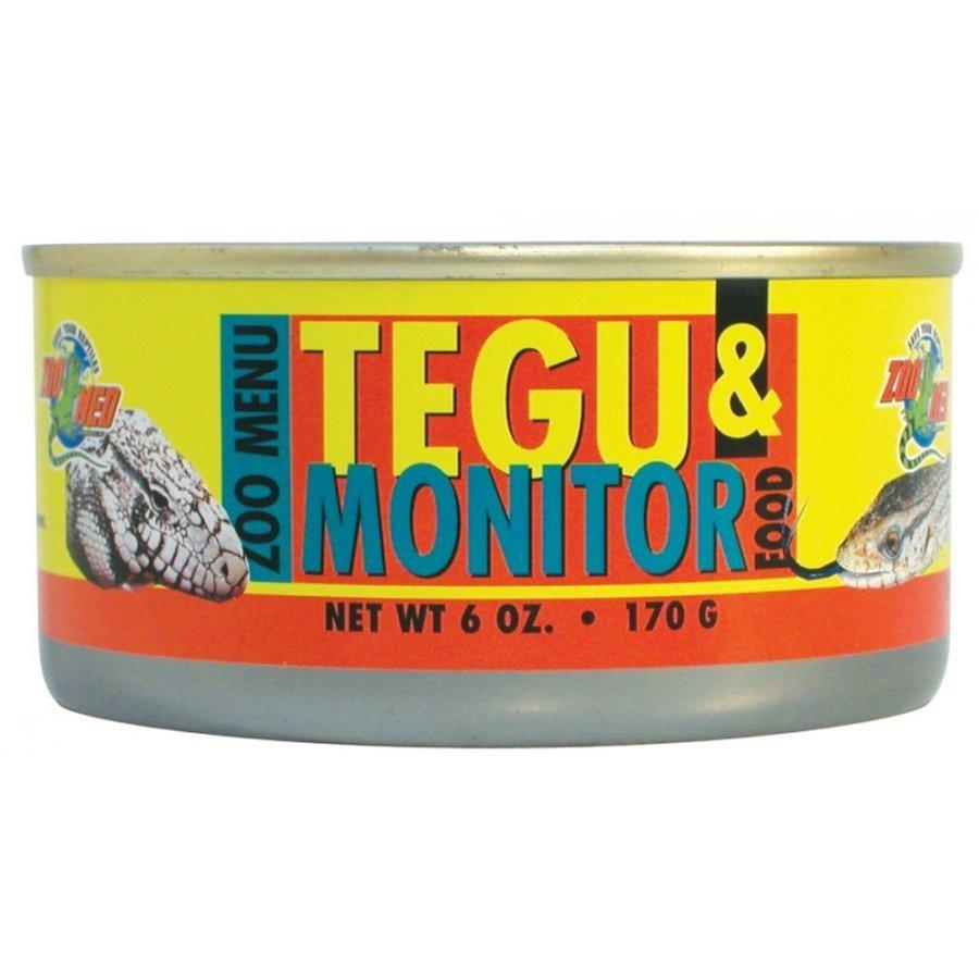 Canned Tegu Monitor Lizard Food 6 Oz