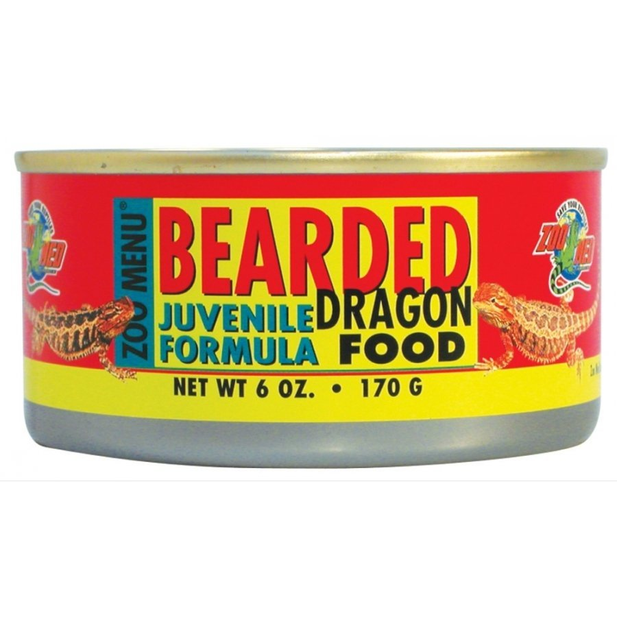 Canned Bearded Dragon Food 6 Oz. / Type Juvenile