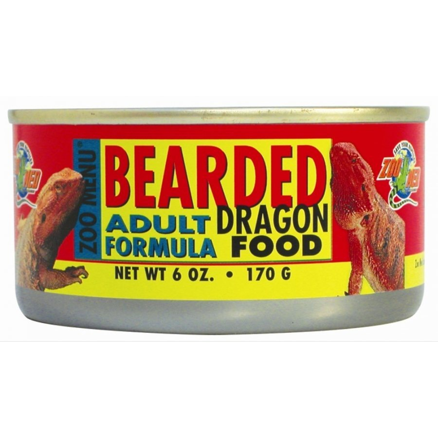 Canned Bearded Dragon Food 6 Oz. / Type Adult