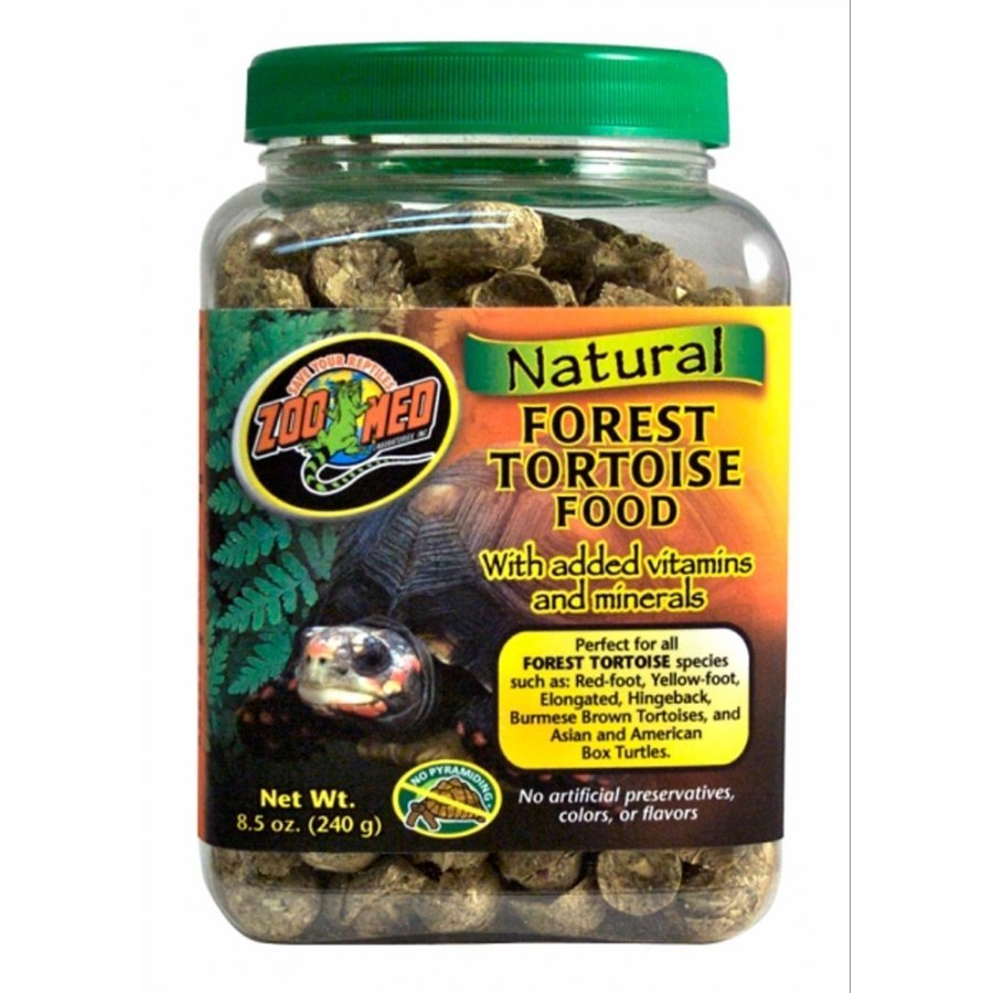 Natural Forest Tortoise Food / Size 8.5 Oz