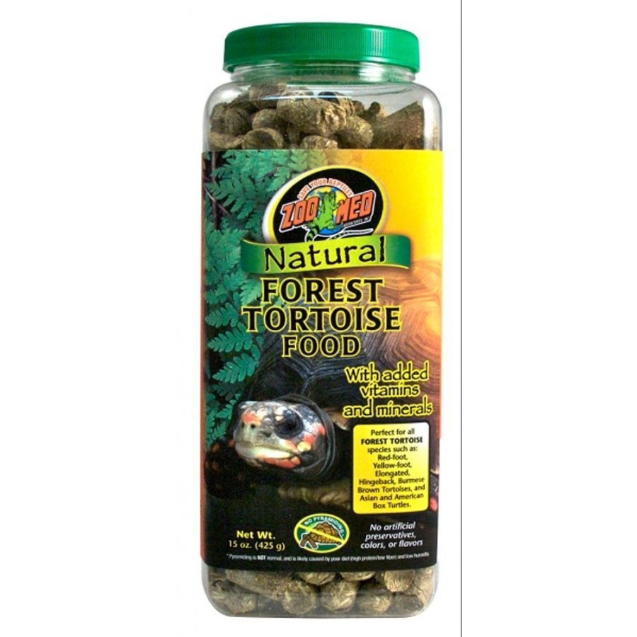 Natural Forest Tortoise Food / Size 15 Oz.