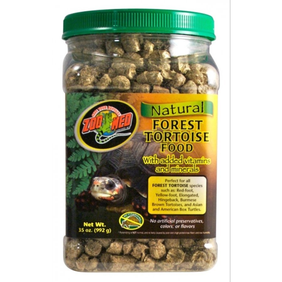 Natural Forest Tortoise Food / Size 35 Oz