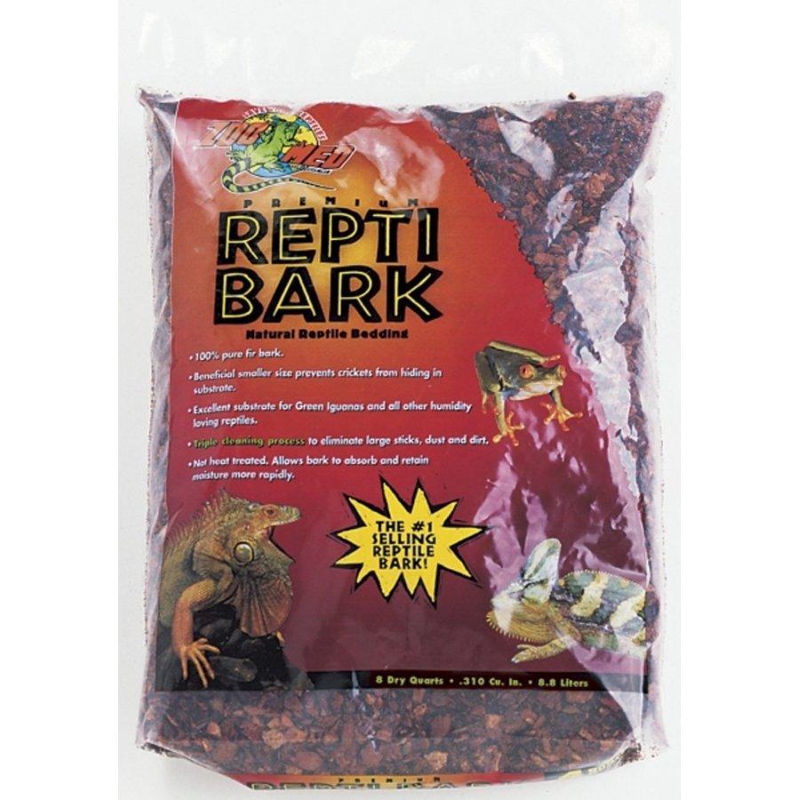 Repti Bark Reptile Cage Litter / Size 8 Qt.