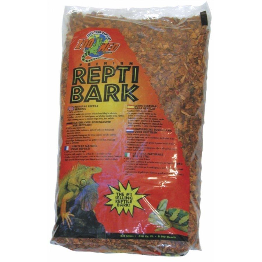 Repti Bark Reptile Cage Litter / Size 24 Qt.