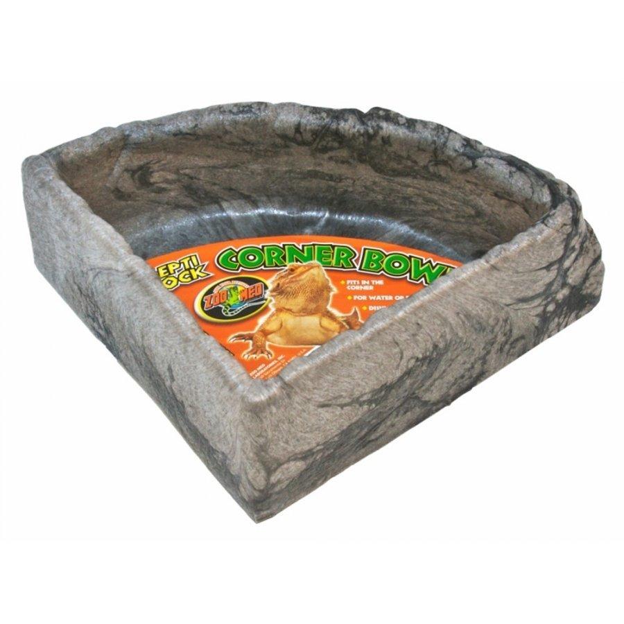 Repti Rock Corner Bowl / Size Large