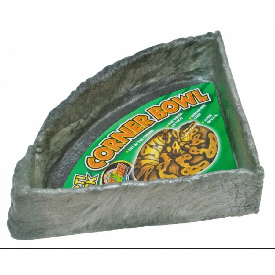 Repti Rock Corner Bowl / Size Xlarge
