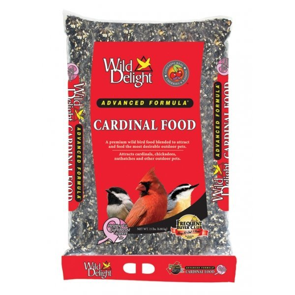 Wild Delight Cardinal Food / Size 15 Lb.