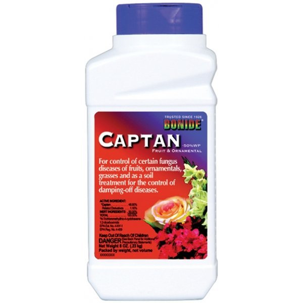 Captan Fruit and Ornamental Fungicide 8 oz. Best Price