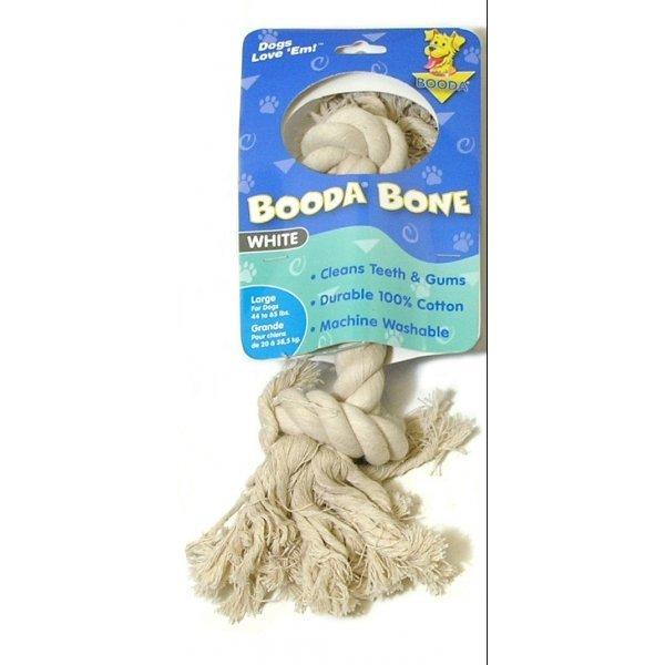 Booda Bone Dog Tug Toy / Size White Large