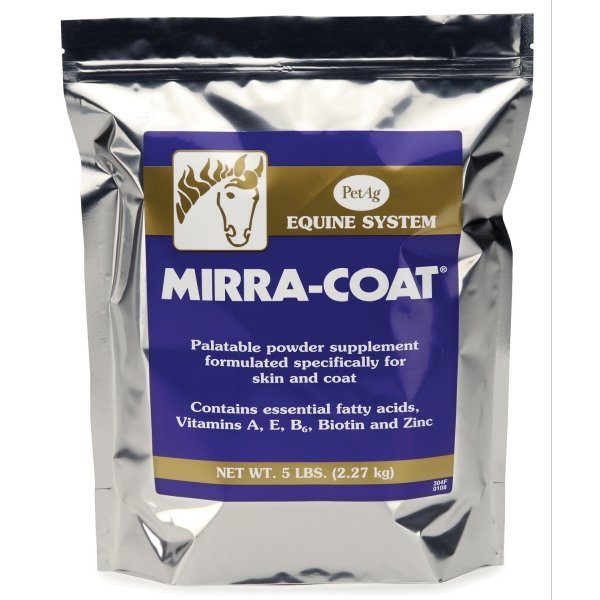 Mirra-Coat Powder for horses  / Size (5 lbs) Best Price
