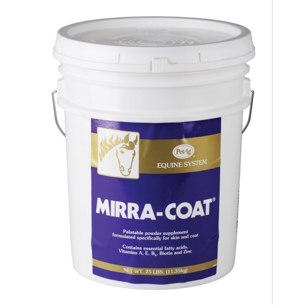 Mirra-Coat Powder for horses  / Size (25 lbs) Best Price