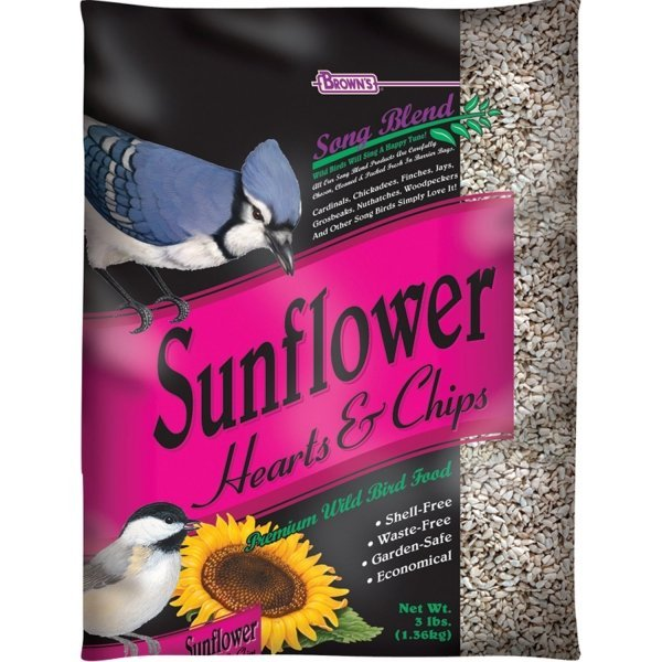 Songblend Sunflower Hearts And Chips 3 Lbs Case Of 6