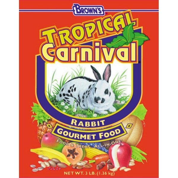 Tropical Carnival Rabbit Food / Size (3 lbs) Best Price