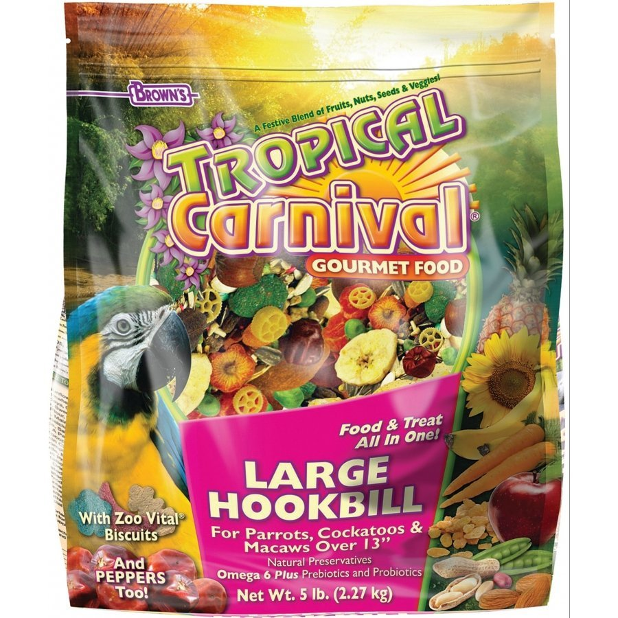 Tropical Carnival For Large Hookbills 5 Lbs