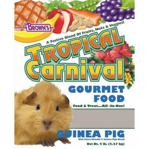 Tropical Carnival Guinea Pig / Size (5 lb) Best Price