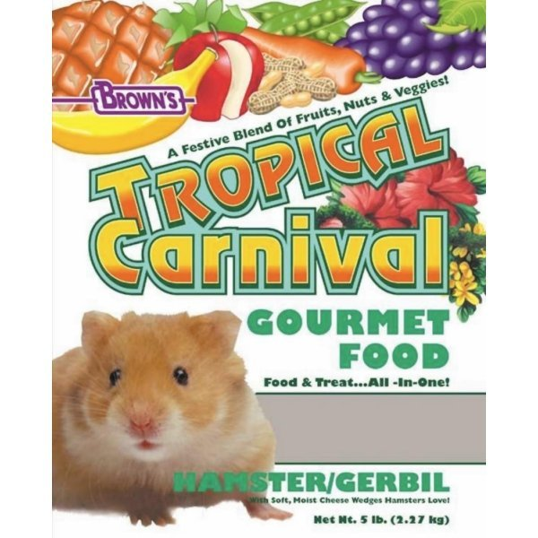 Tropical Carnival Hamster Food / Size (5 lb) Best Price