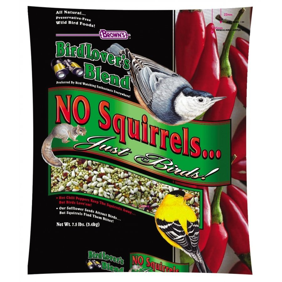 Birdlovers Blend No Squirrels Just Birds 7.5 Lbs.