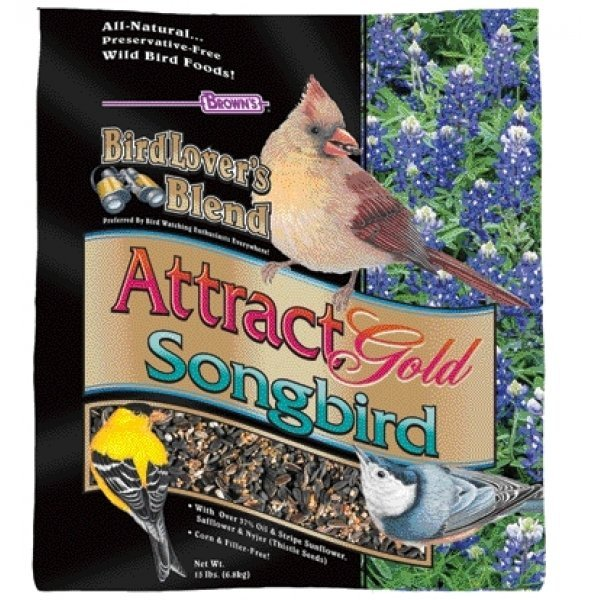 Birdlovers Blend Attract Gold Wild Bird Seed / Size (15 lbs.) Best Price