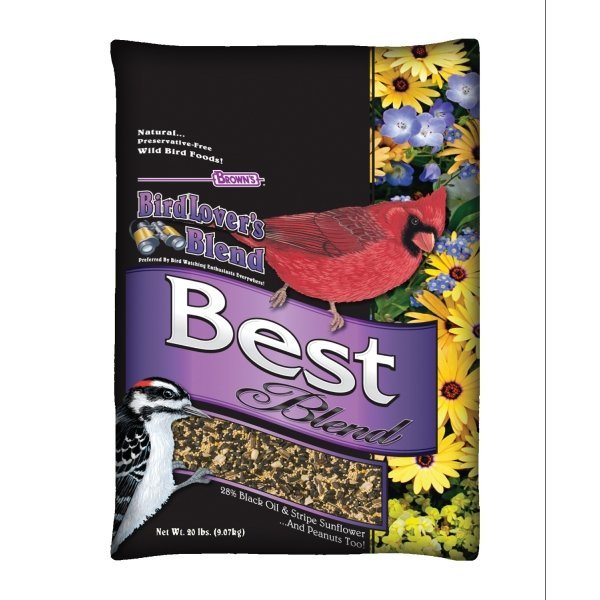 Browns Natures Banquet Best Blend Wild Bird Food / Size (20 lb.) Best Price