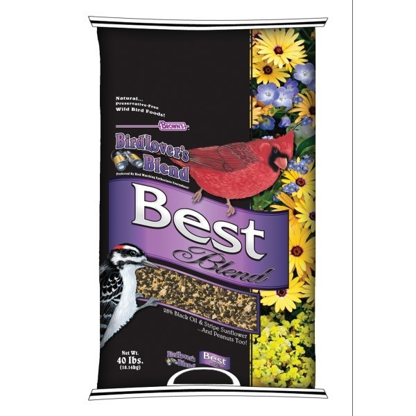Browns Natures Banquet Best Blend Wild Bird Food / Size (40 lb) Best Price