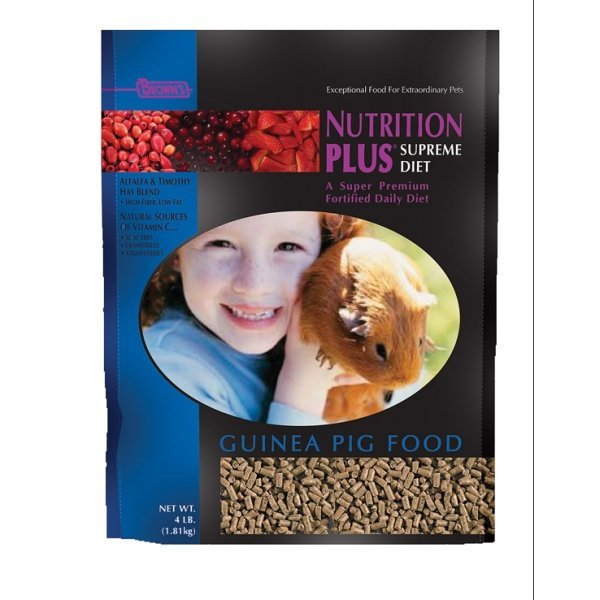 Nutrition Plus Supreme Guinea Pig Food 4 lbs Best Price