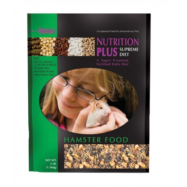 Nutrition Plus Supreme Food For Hamsters 3 Lb.