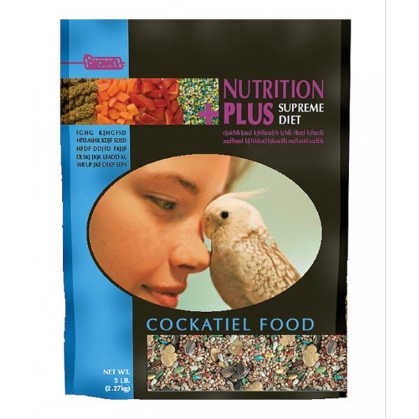 Nutrition Plus Supreme Food For Cockatiels 3 Lb.