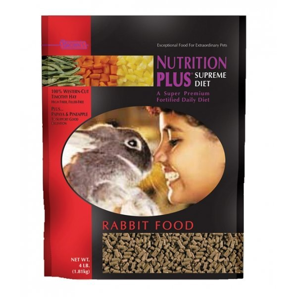 Nutrition Plus Supreme Rabbit Food - 4 lbs Best Price