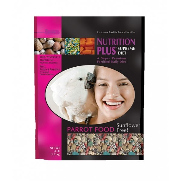 Nutrition Plus Supreme Parrot Food - 4 lbs Best Price