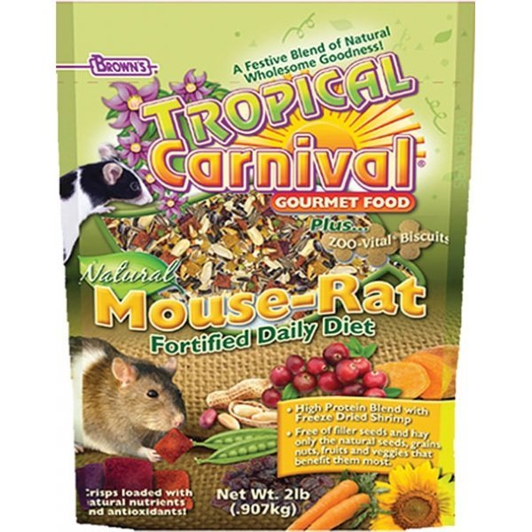 Tropical Carnival Natural Mouse And Rat 2 Lbs.