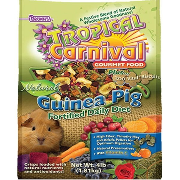 Tropical Carnival Natural Guinea Pig - 4 lbs. Best Price