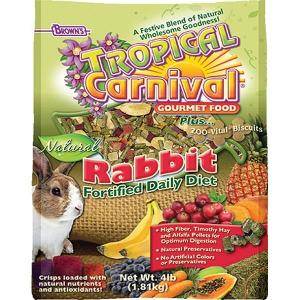 Tropical Carnival Natural Rabbit 4 Lbs