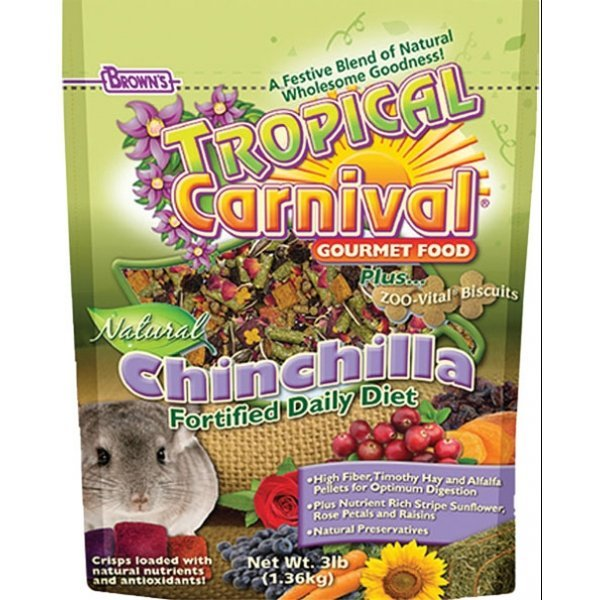Tropical Carnival Natural Chinchilla Food - 3 lbs Best Price