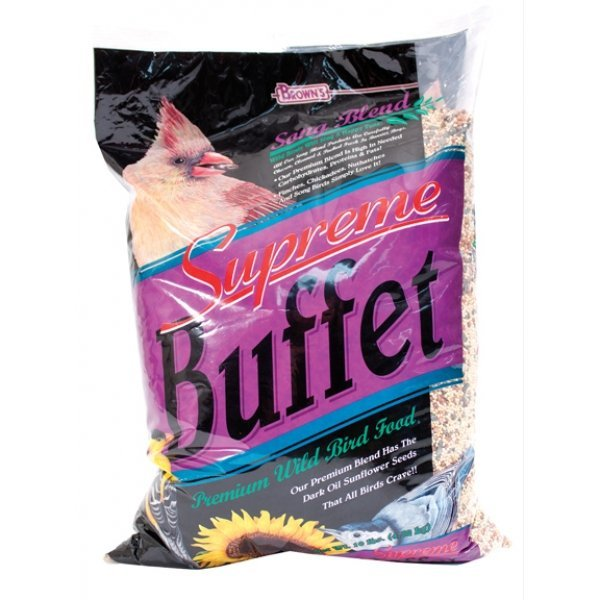 Song Blend Supreme Buffet Premium Wild Bird Food 10 Lb.
