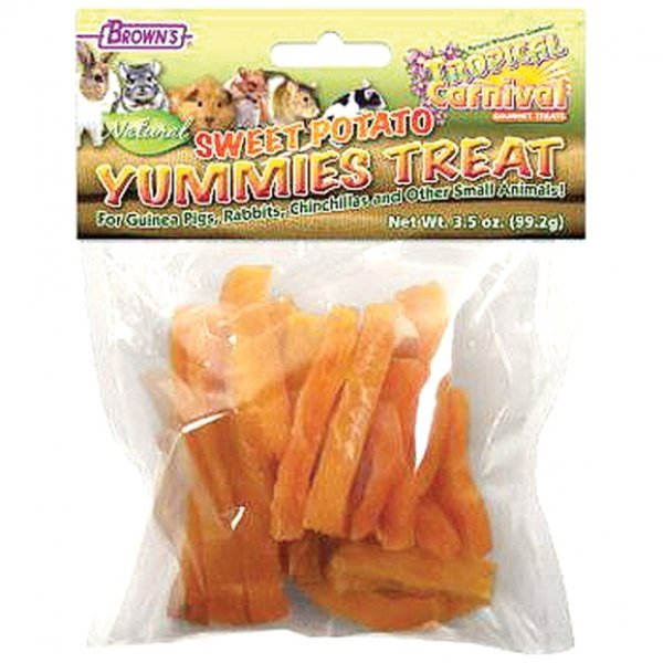Tropical Carnival Sweet Potato Yummies Small Pet Treat - 3.5 oz. Best Price