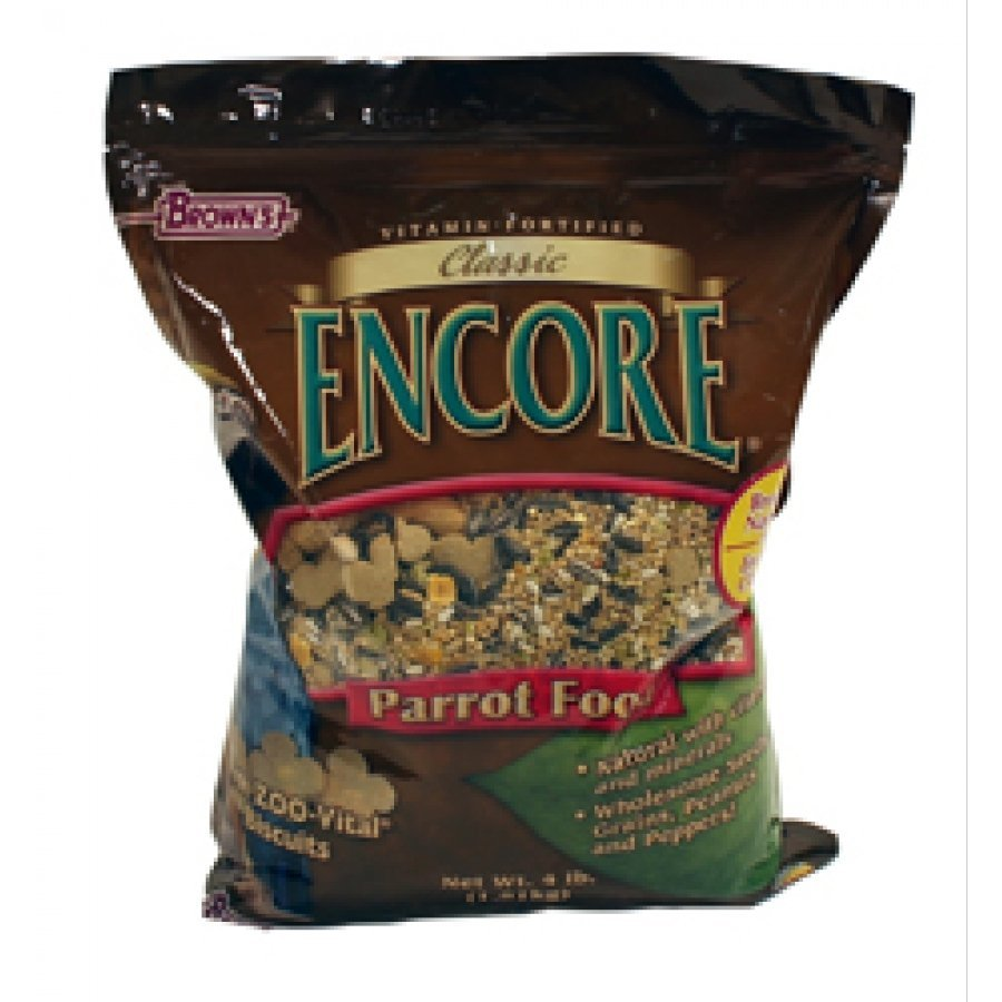 Encore Classic Natural Parrot Food - 4 lb. Best Price