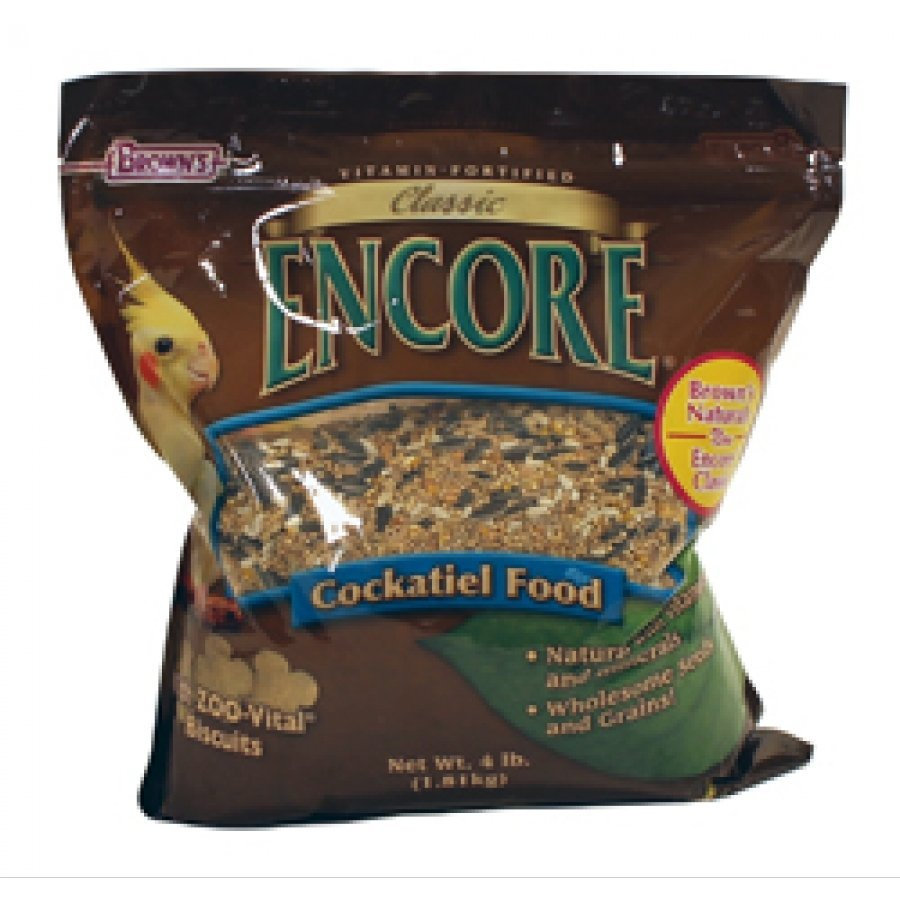 Encore Classic Natural Cockatiel Food - 4 lb. Best Price