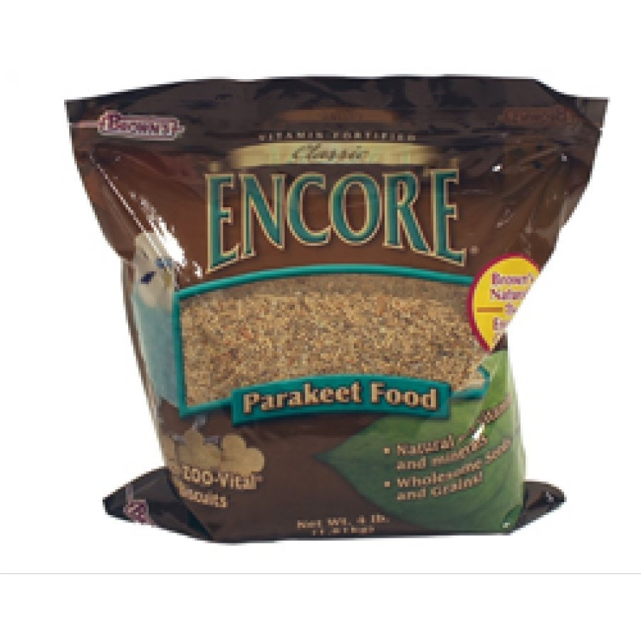 Encore Classic Natural Parakeet Food - 4 lb. Best Price