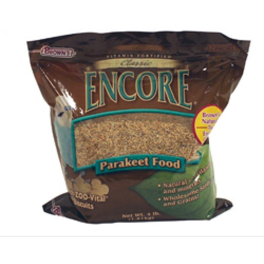 Encore Classic Natural Parakeet Food 4 Lb.