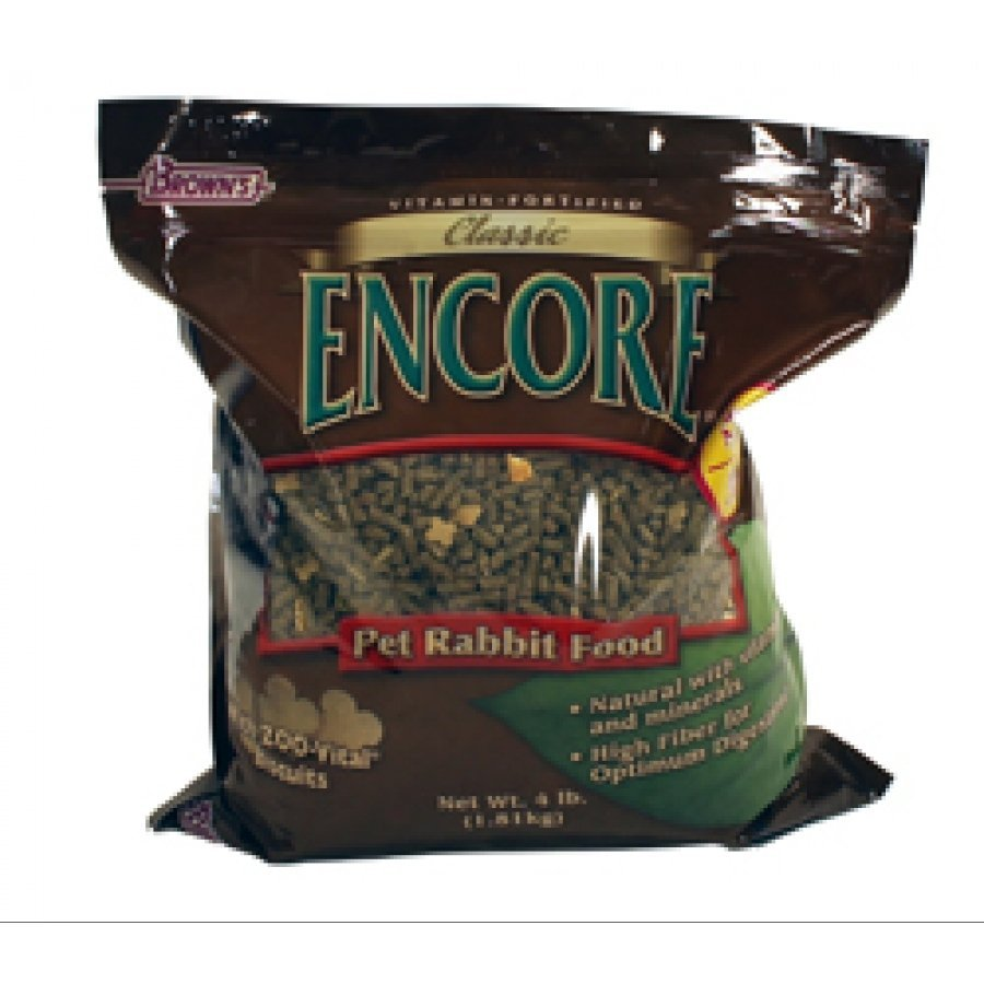 Encore Classic Natural Rabbit Food - 4 lb. Best Price