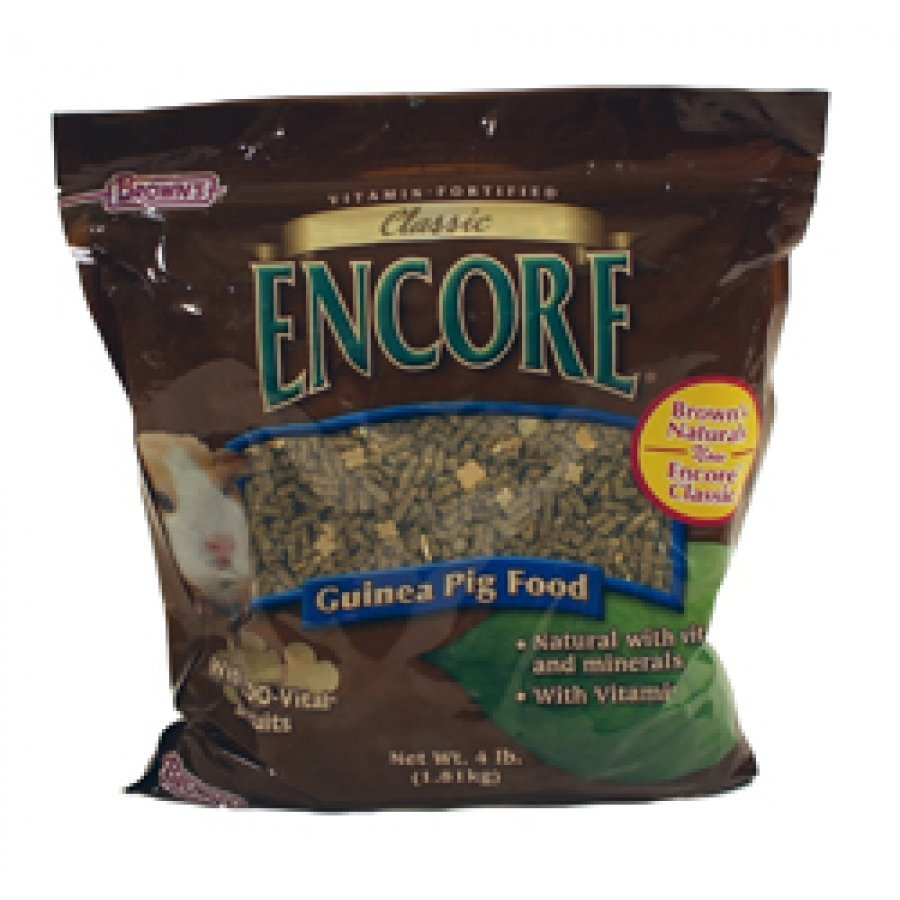 Encore Classic Natural Guinea Pig Food - 4 lb. Best Price