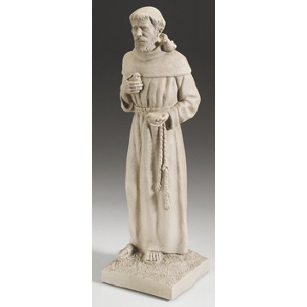St Francis Lawn Ornament 21 in. Best Price