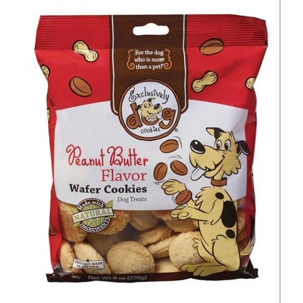 Peanut Butter Dog Cookies 8 Oz