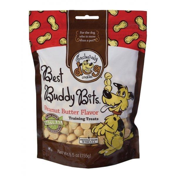 Best Buddy Bits Dog Treats / Flavor Peanut Butter / 5.5 Oz