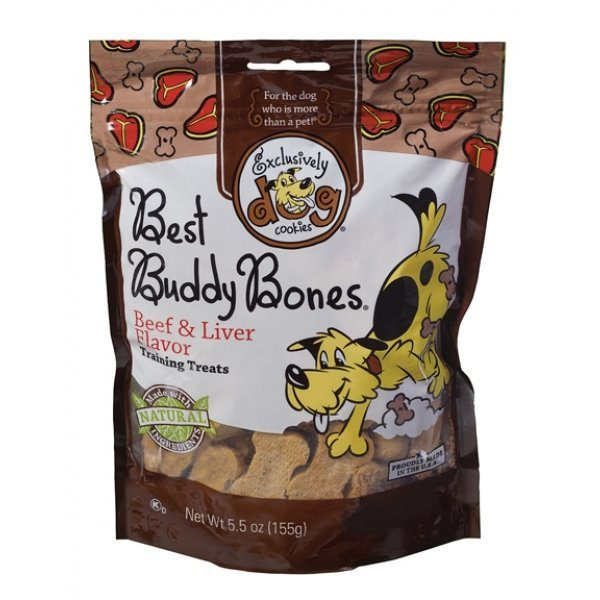 Best Buddy Dog Treat 5.5 Oz / Flavor Beef/liver