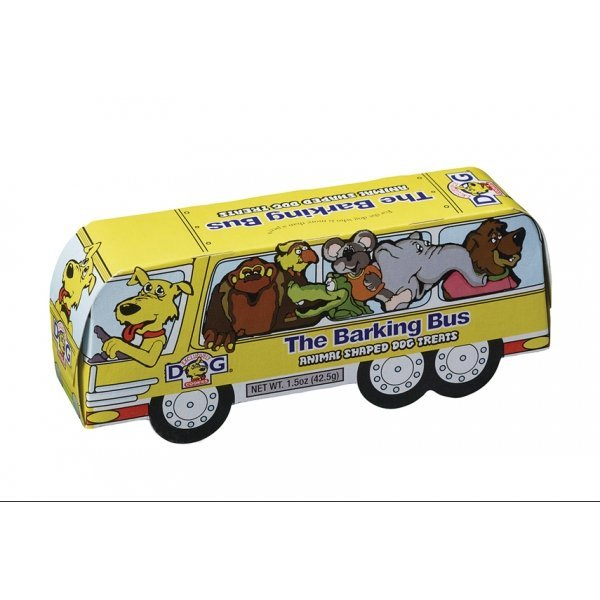 The Barking Bus Animal Shaped Dog Treats - 1.5 oz. Best Price