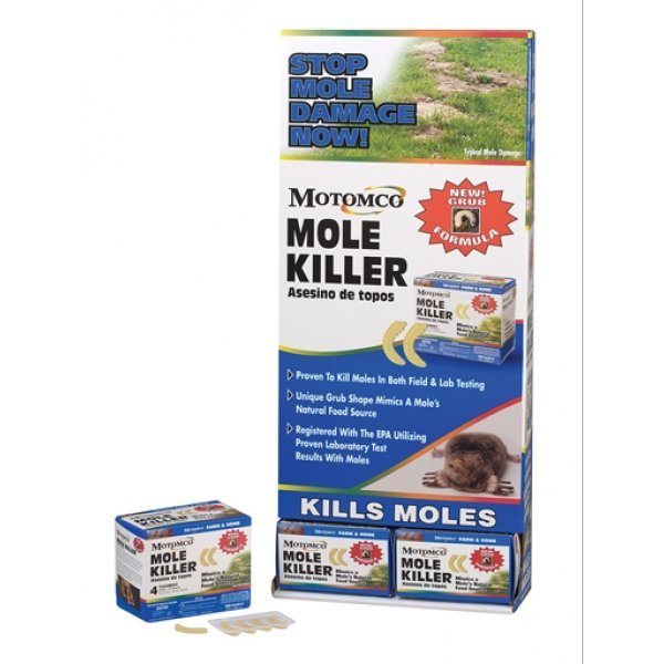 Mole Killer Grub Formula - 8 grubs Best Price