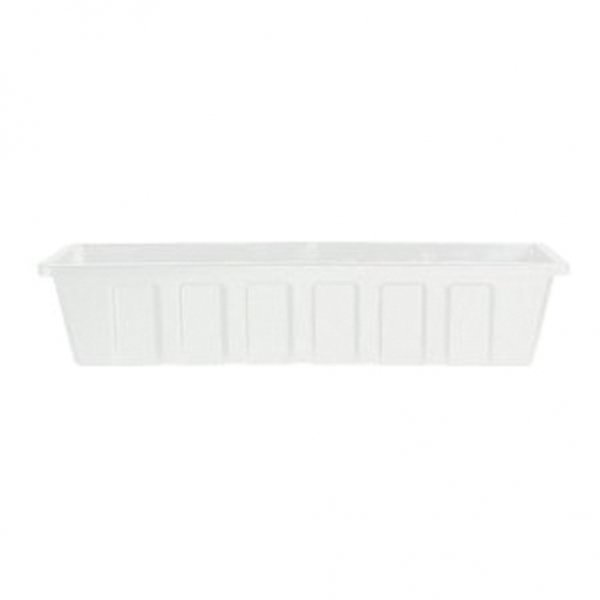 Flower Box Planters  / Size (18 in. /White) Best Price
