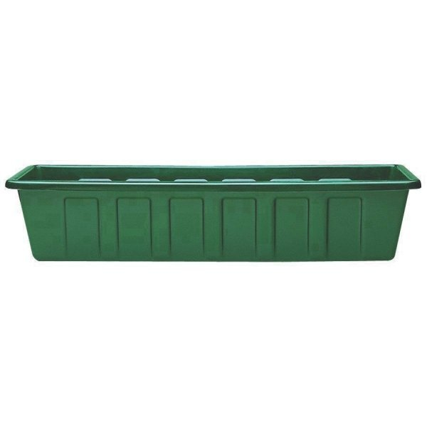 Flower Box Planters  / Size (24 in./Green) Best Price