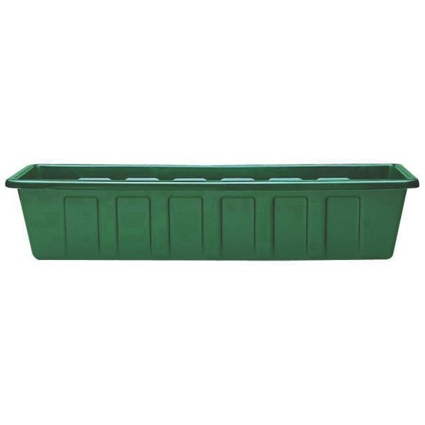Flower Box Planters  / Size (30 in./Green)